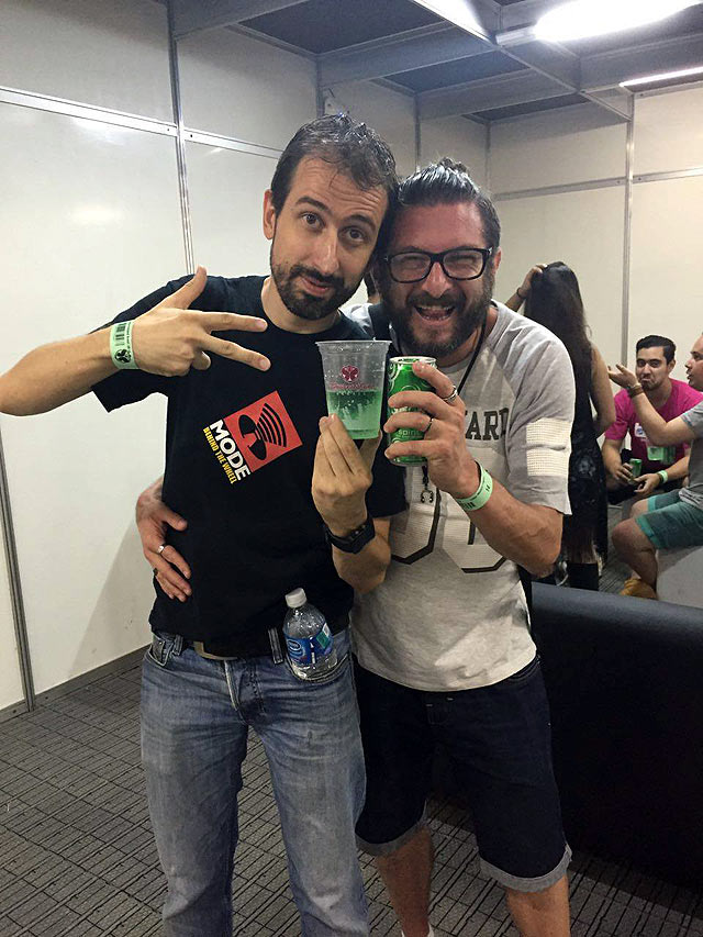 Gonçalo Vinha │ Dir Novos Negócios DJ SOUND e Valtinho Fragoso │ Press