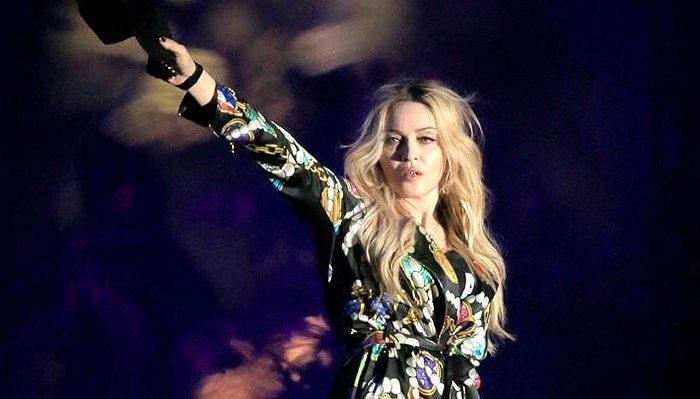 a Rainha do Pop - Madonna, em Show em 2016