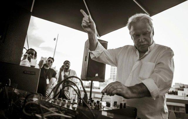 Giorgio Moroder @ Red Bull Guest House em Miami, Florida, EUA, em 2014