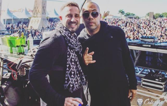 DJs Produtores Rodrigo Ferrari e o mestre Carl Craig na Tribe 15 anos!