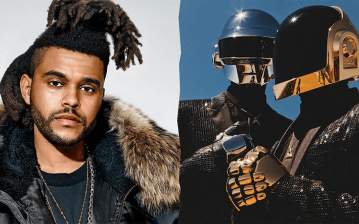 "The Weeknd ""Star Boy"" e Daft Punk"