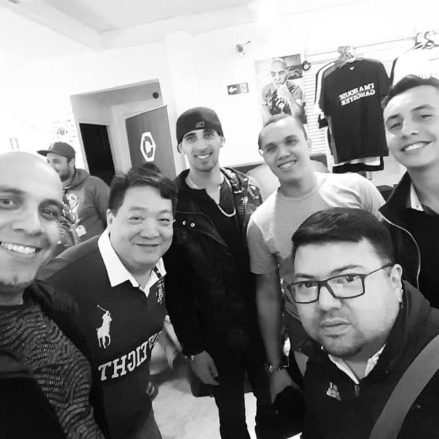 Na DJBan Meeting Pioneer DJ - com Jorge Yuuichiro So, DjSimon Telini, Vitor Maximiano, Tom Hopkins e Fernando Sobral