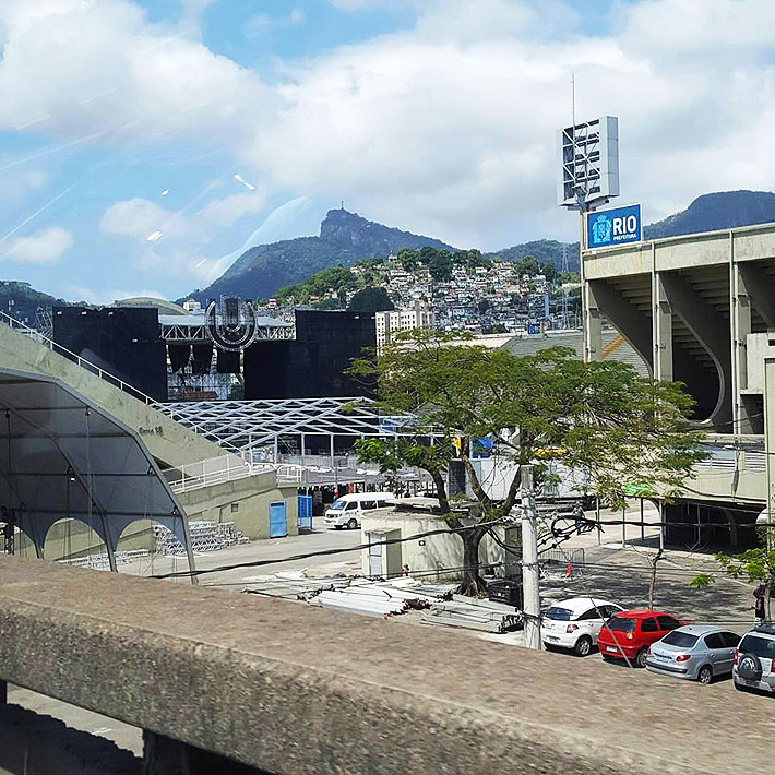 Ultra Brasil Rio 2016 em montagem @ Sambódromo