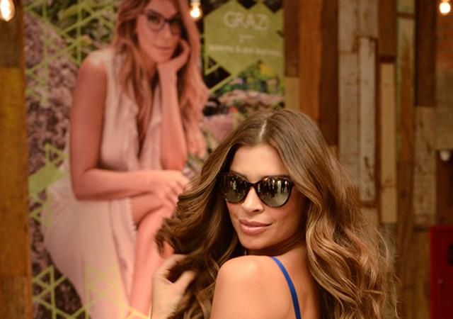 Grazi Massafera lança linha de óculos em São Paulo pelo Dia da Amazonia -  DJ SOUND 86842d30a3