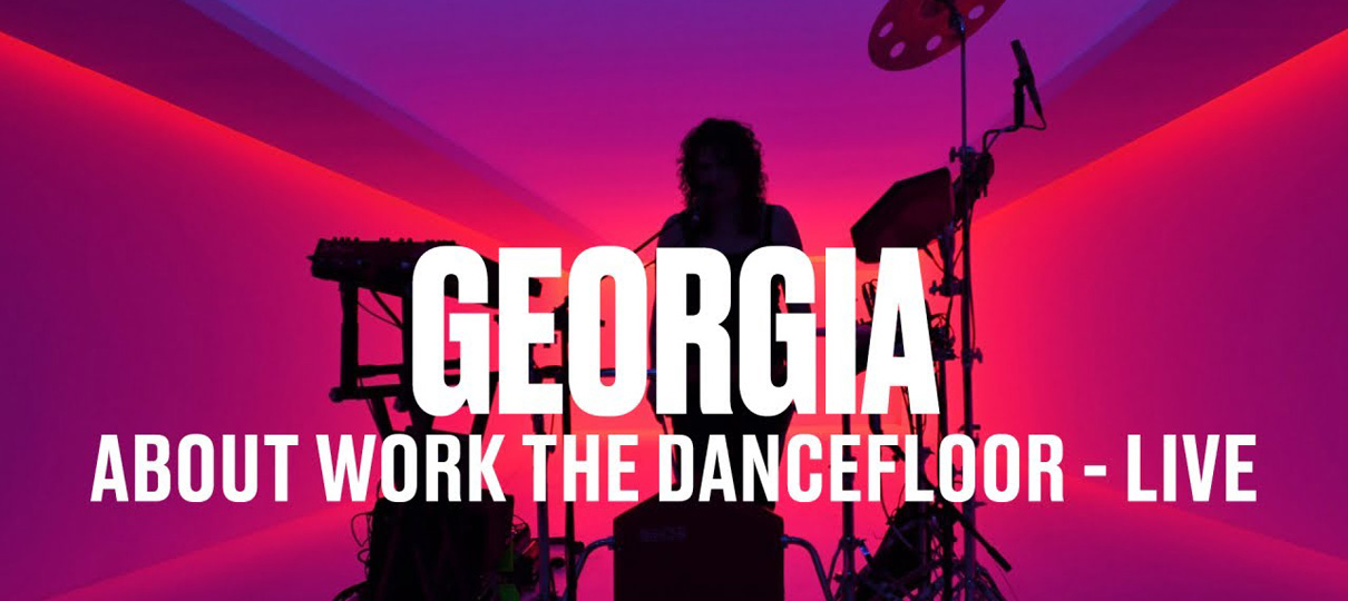 "Georgia, divulga o remix de Black Madonna para ""About Work The Dancefloor"""