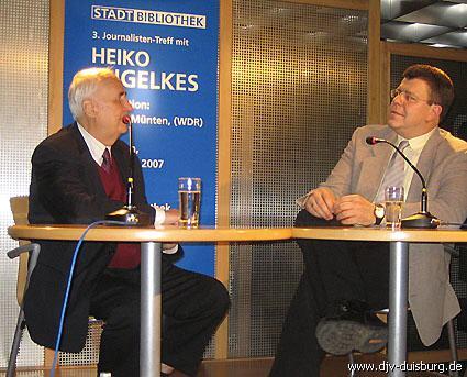 Thomas Münten spricht mit Heiko Engelkes
