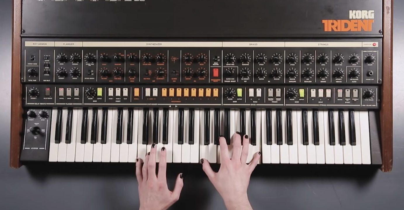Shut Up & Play: Sounds Of The Korg Trident Synthesizer