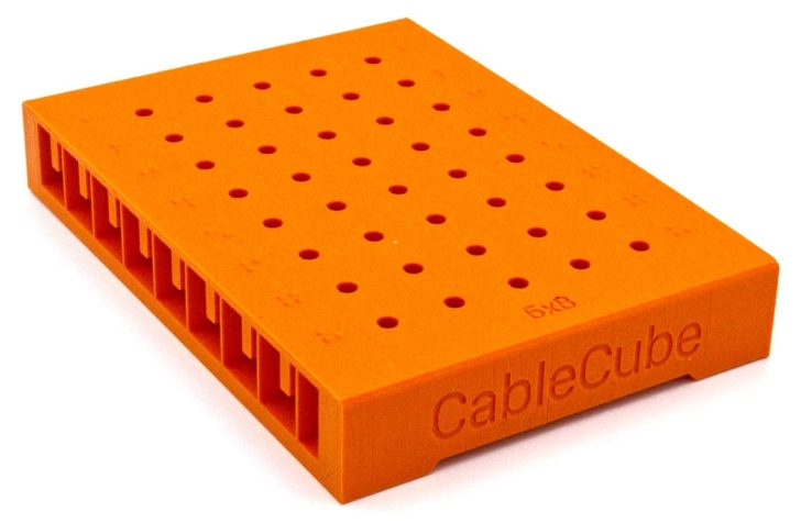 CableCube Offers A New Way To Organize Your Eurorack Patch Cables