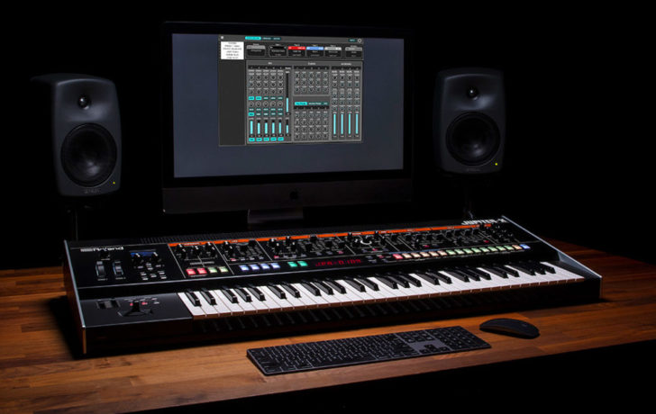 Roland Intros Free Editor and Librarian Software For Jupiter-X, Jupiter-Xm Synthesizers