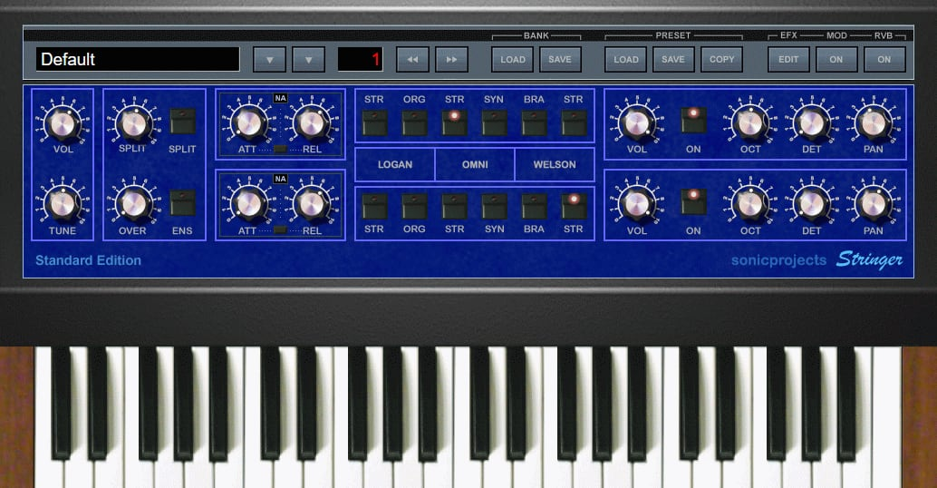 SonicProjects Stringer Virtual String Machine