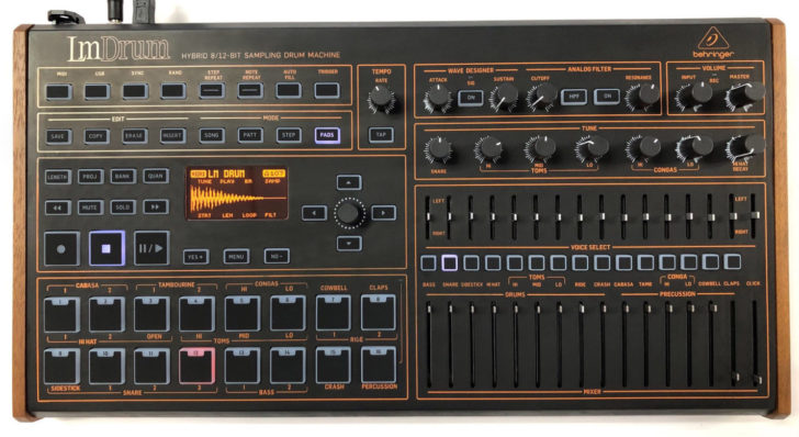New Behringer LmDrum Drum Machine Not A Knockoff, It Just Looks Like One