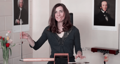 How To Play The Theremin, With Carolina Eyck