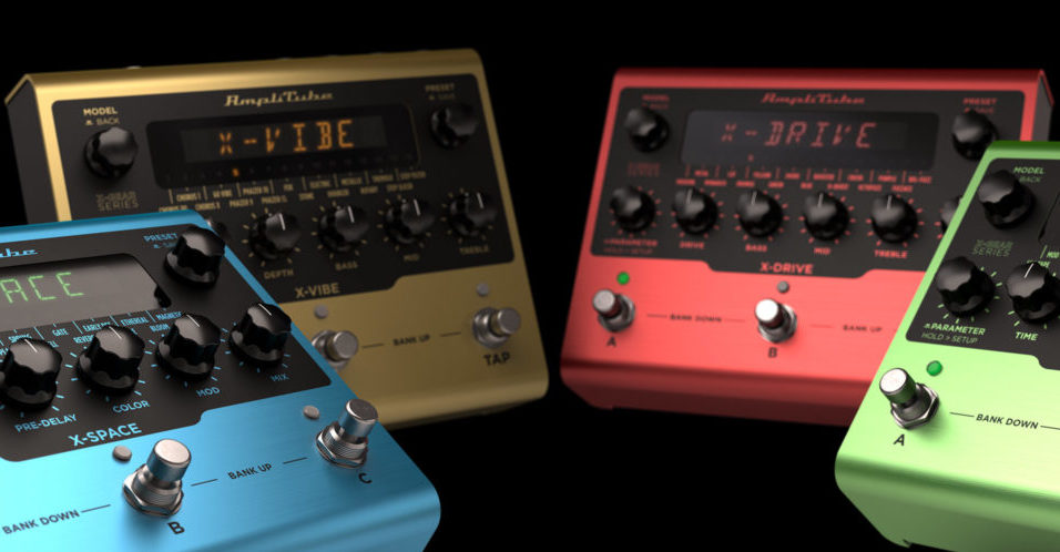 IK Multimedia X-Gear Pedals Let You Use Effects Live Or In Your DAW