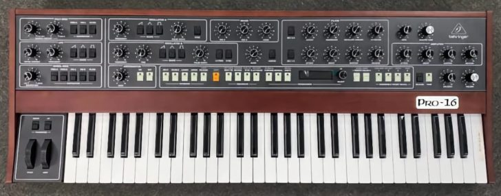 Behringer Pro-16 Synthesizer Sneak Preview