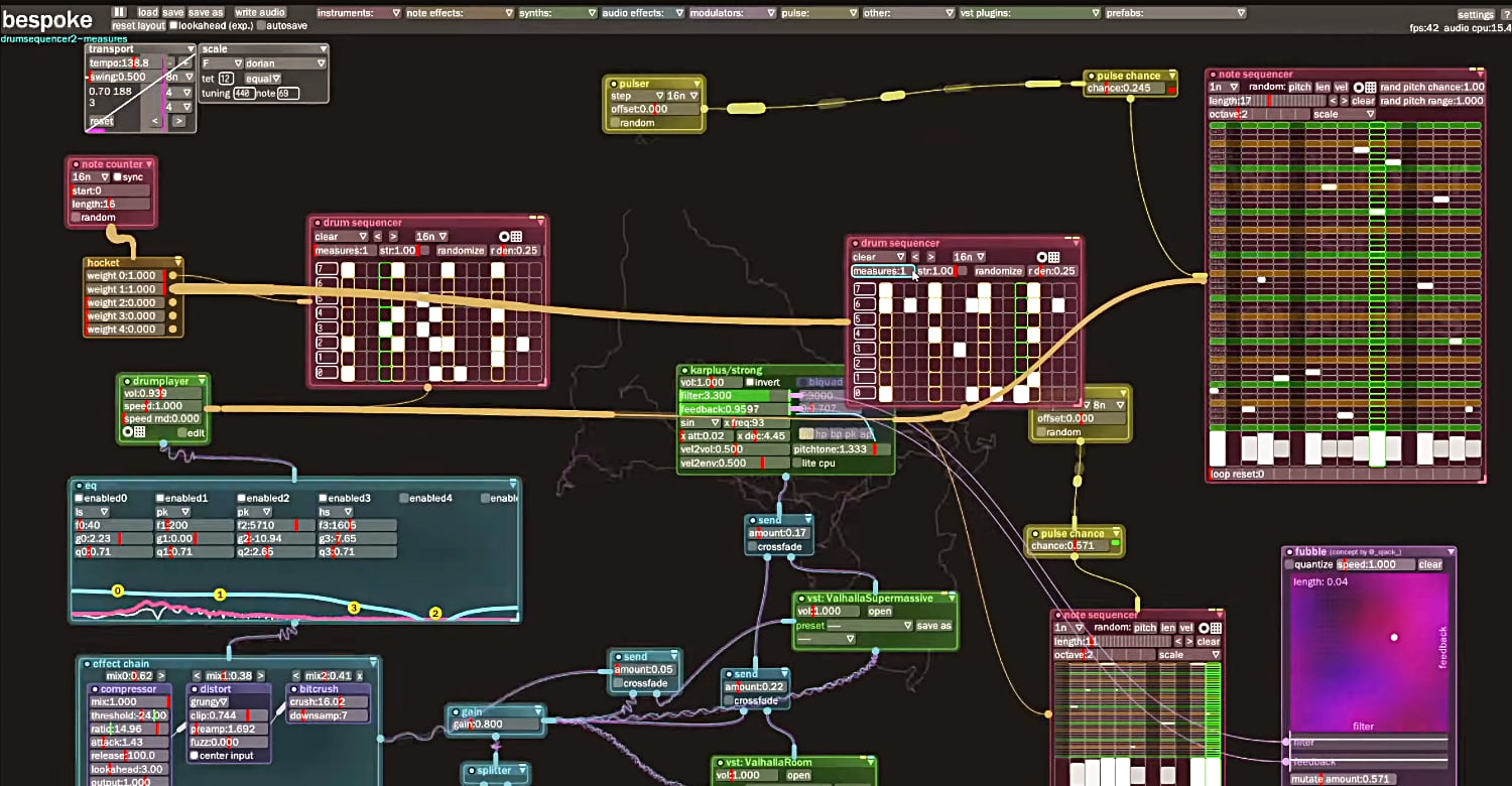 Free Open Source Modular System, Bespoke, Offers An Alternative To Skeuomorphic Virtual Eurorack Synths
