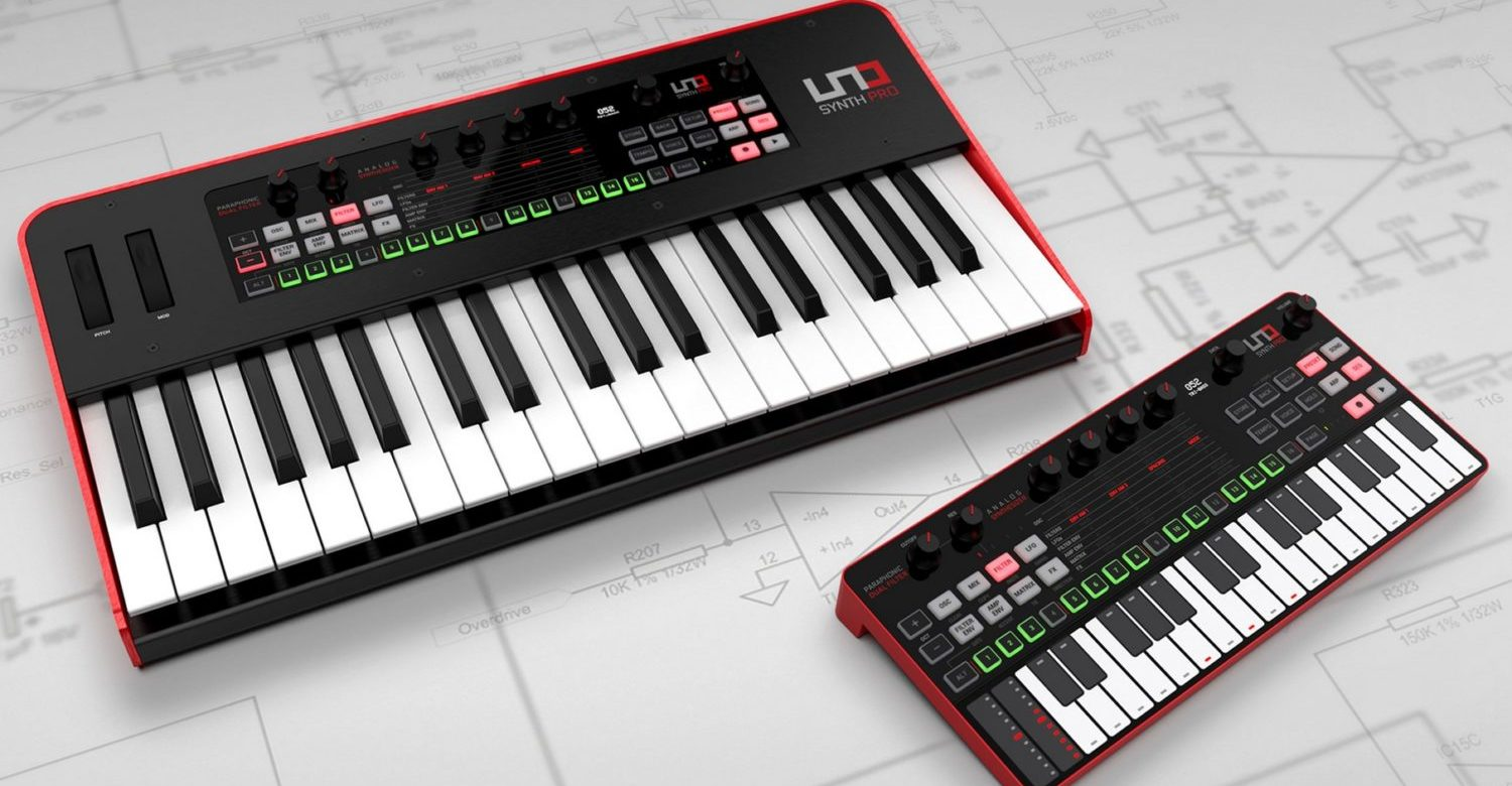 IK Multimedia UNO Synth Pro Gets Free Patch Editor