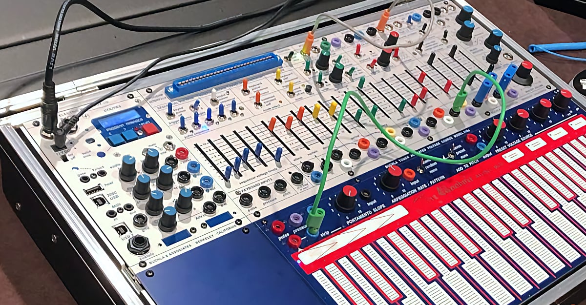 New Buchla Music Easel At Superbooth 2021