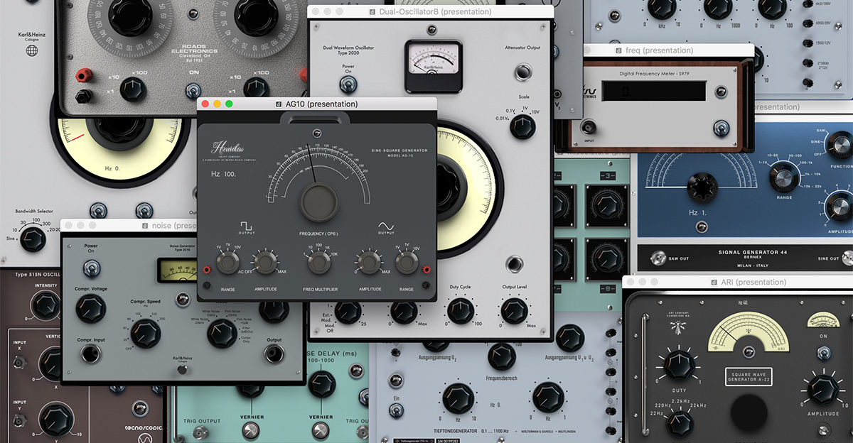 Berna 3 Turns Your Computer Into A 1950's Electronic Music Studio