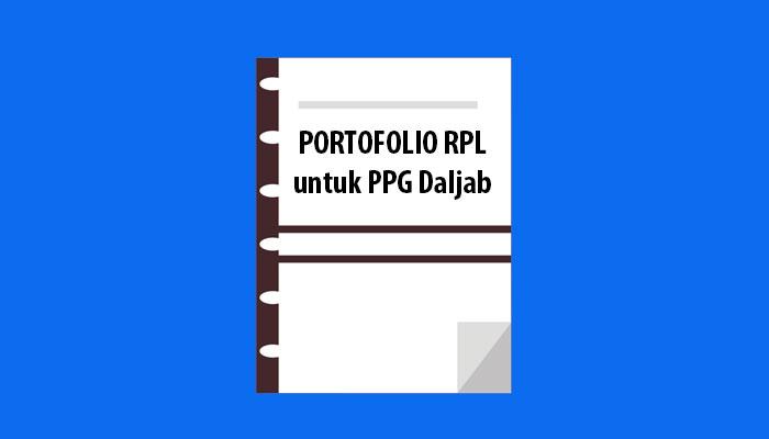 Portofolio RPL untuk PPG Dalam Jabatan