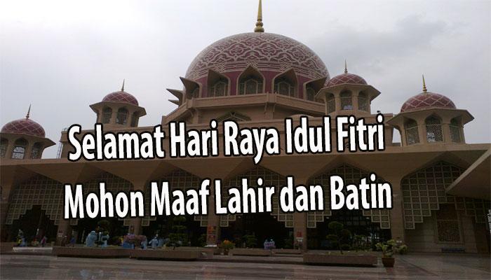 Ucapan Idul Fitri 2017