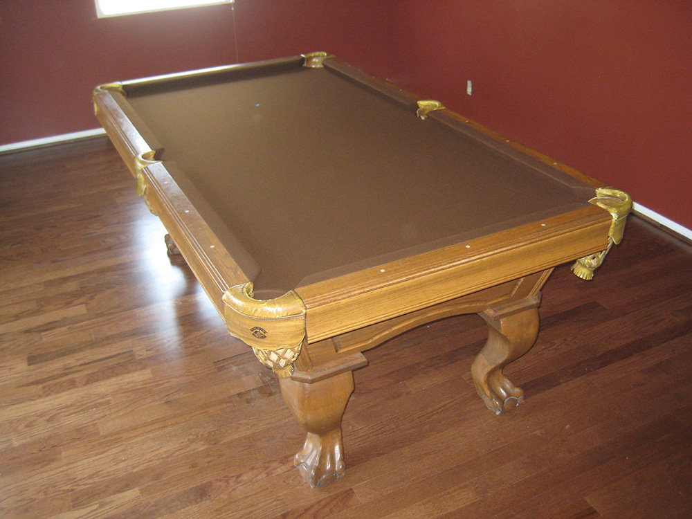 Genial We Went Up To Downey, CA Yesterday To Finish Up Some Work On A Nine Year  Old Advanced Billiards Pool Table(a.k.a. Artisan Designs) For What Started  As A ...