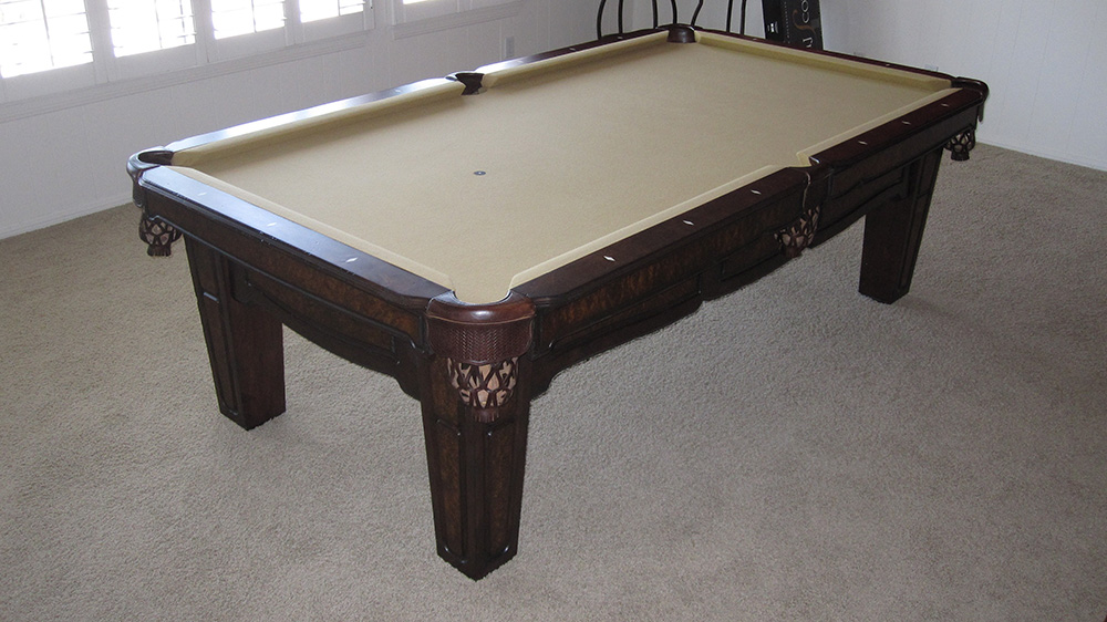 From The Sunshine State To The Golden State Pool Table Service - Pool table help