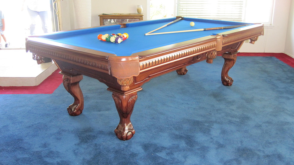 the pool table delivery process - dk billiards & service orange