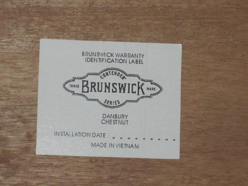 Boston Beige Brunswick Pool Table Service Billiard Supply Orange - Pool table identification