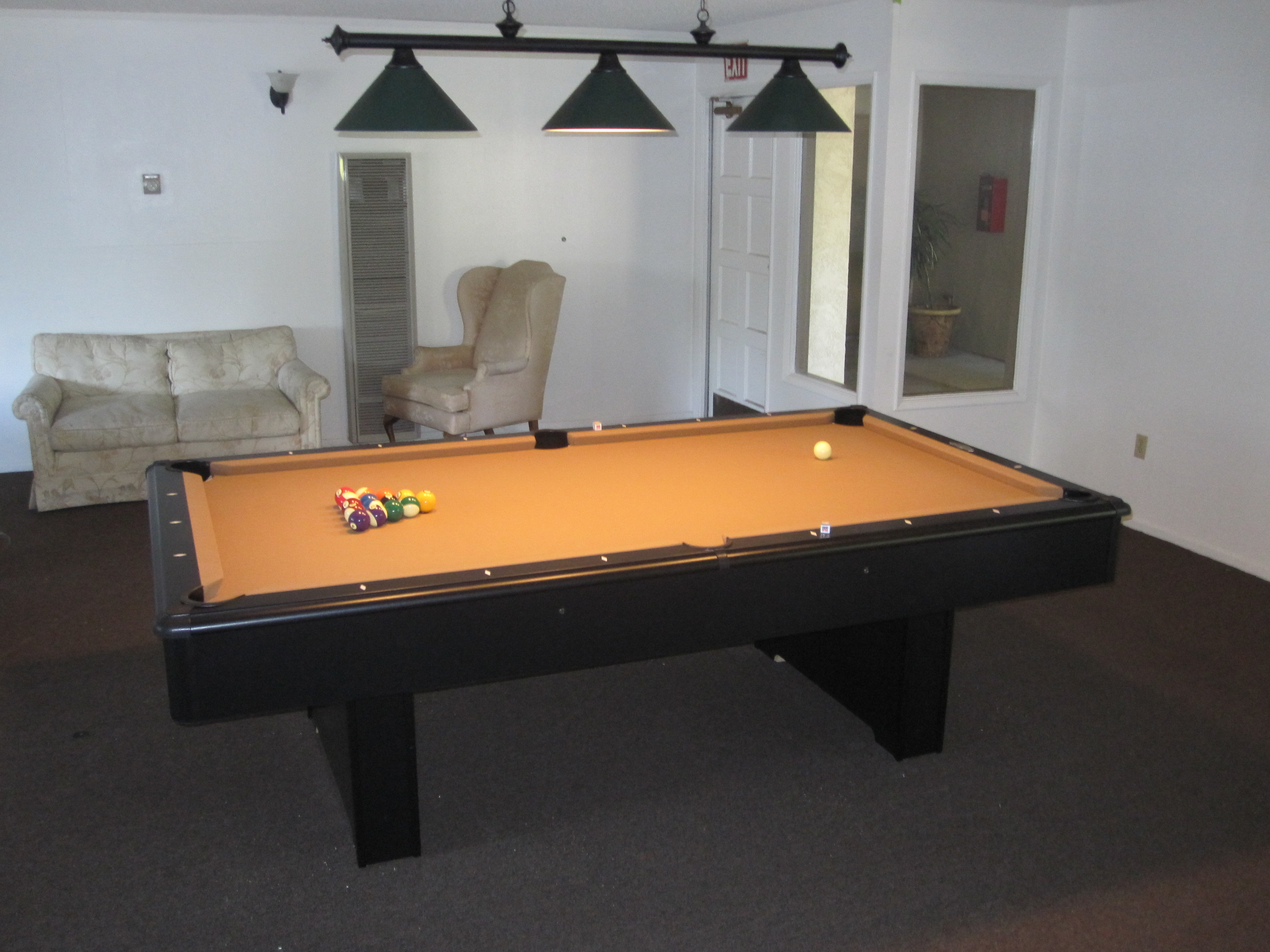 Here We Are At Casa Loma Apartments In Tustin, CA To Swap Out An Old 1960u0027s  U201cbar Pool Tableu201d. This 45 Year Old Fischer Coin Operated Pool Table Is  Being ...