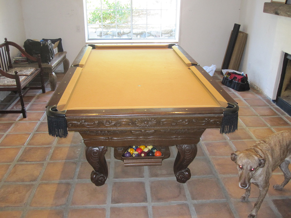Surprise One Piece Slate Move Pool Table Service Billiard Supply - How to move a slate pool table