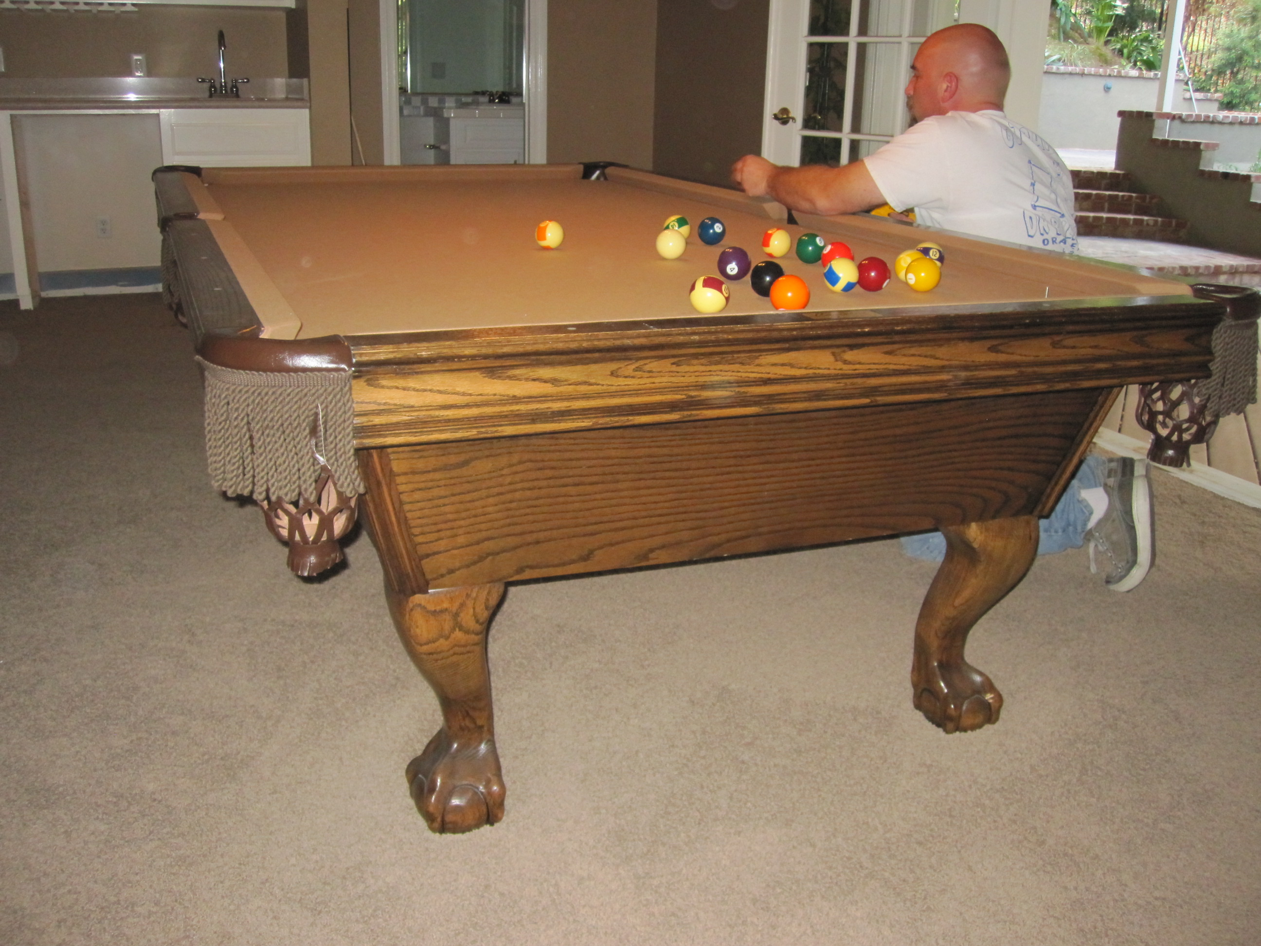 Superior Camelot Pool Table Move