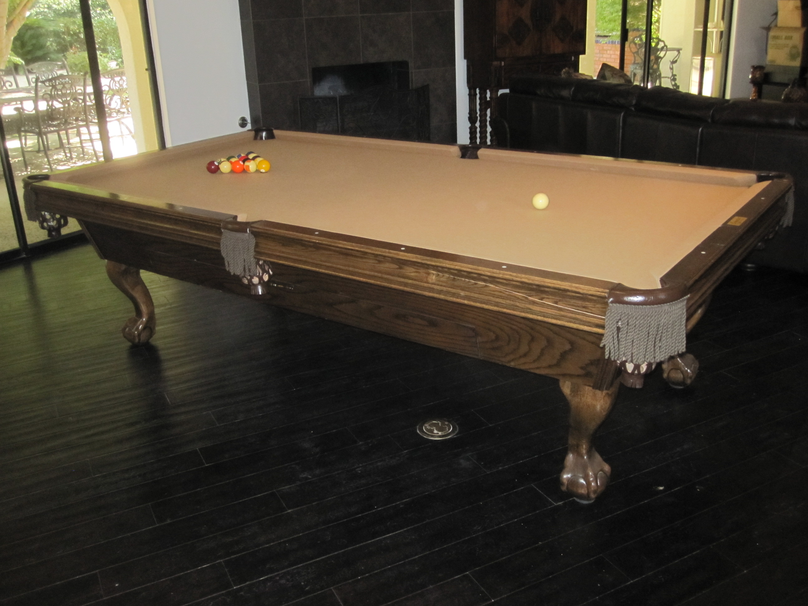 Ordinaire After The Rain Stopped Yesterday, We Headed Over To Chino Hills, CA To Move  A Nine Foot Camelot Pool Table For Our Client.
