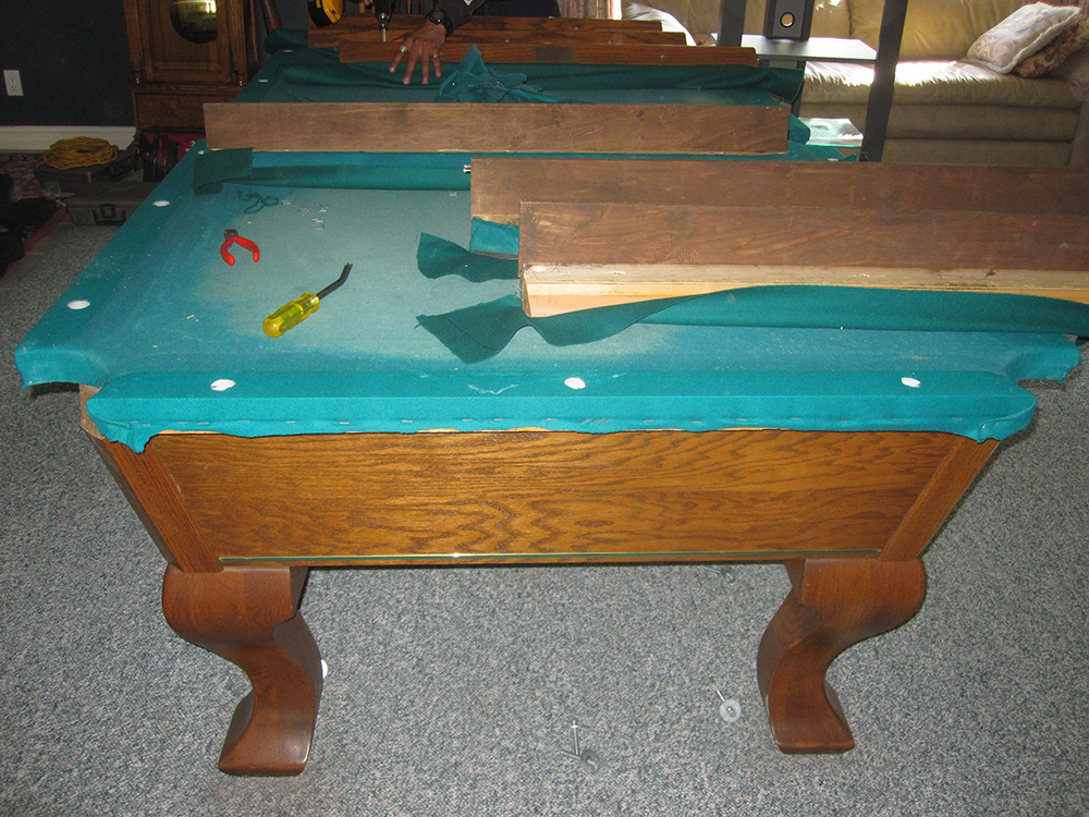 Buena Park Amf Pool Table Refelting  Dk Billiards Pool. Marble Living Room Table. Rent Tables And Chairs For Party. Glass And Metal Coffee Tables. Ikea Legs For Desk