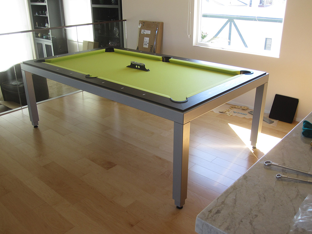 Aramith Fusion Table With A Lime Twist Dk Billiards