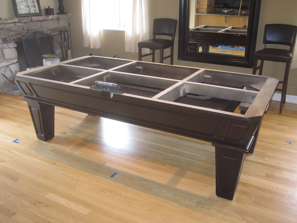 Beau This Is A Great Example Of How To Maximize The Space In Your Home To Fit A Pool  Table. This Costa Mesa, CA Married Couple Does A Lot Of Entertaining In The  ...