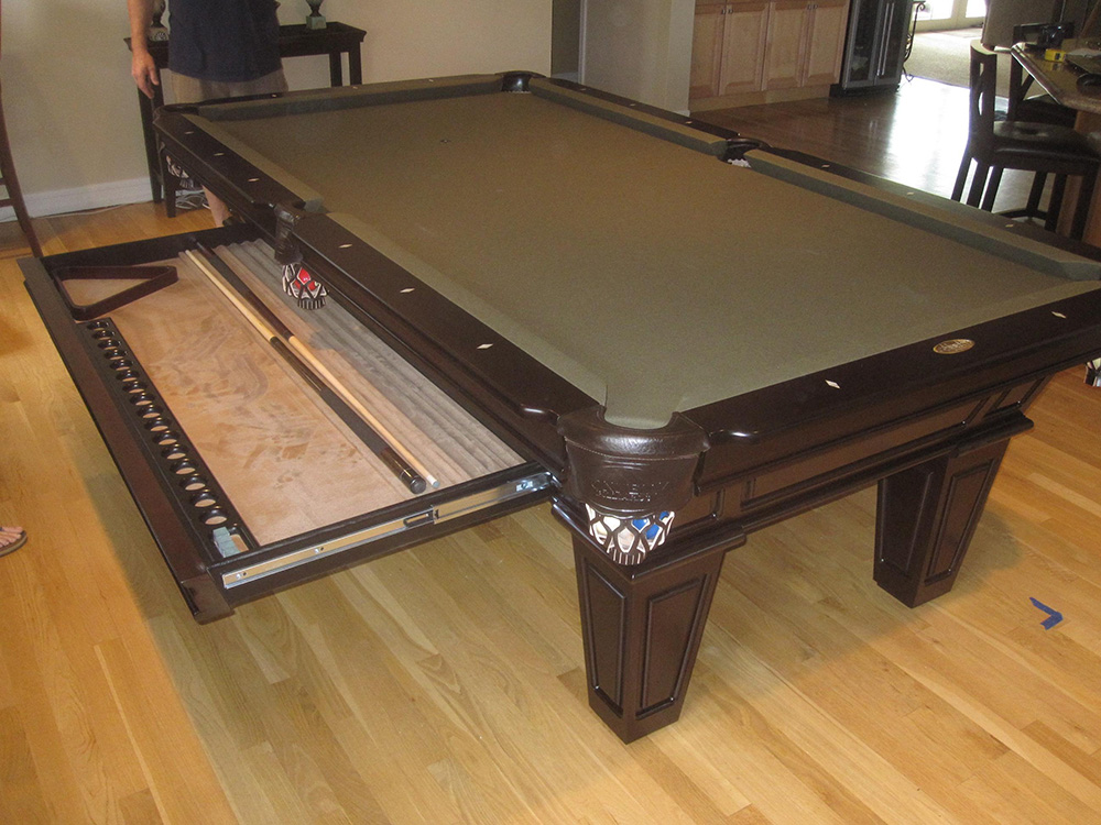 Bon How To Make Room For A Pool Table In Your Home