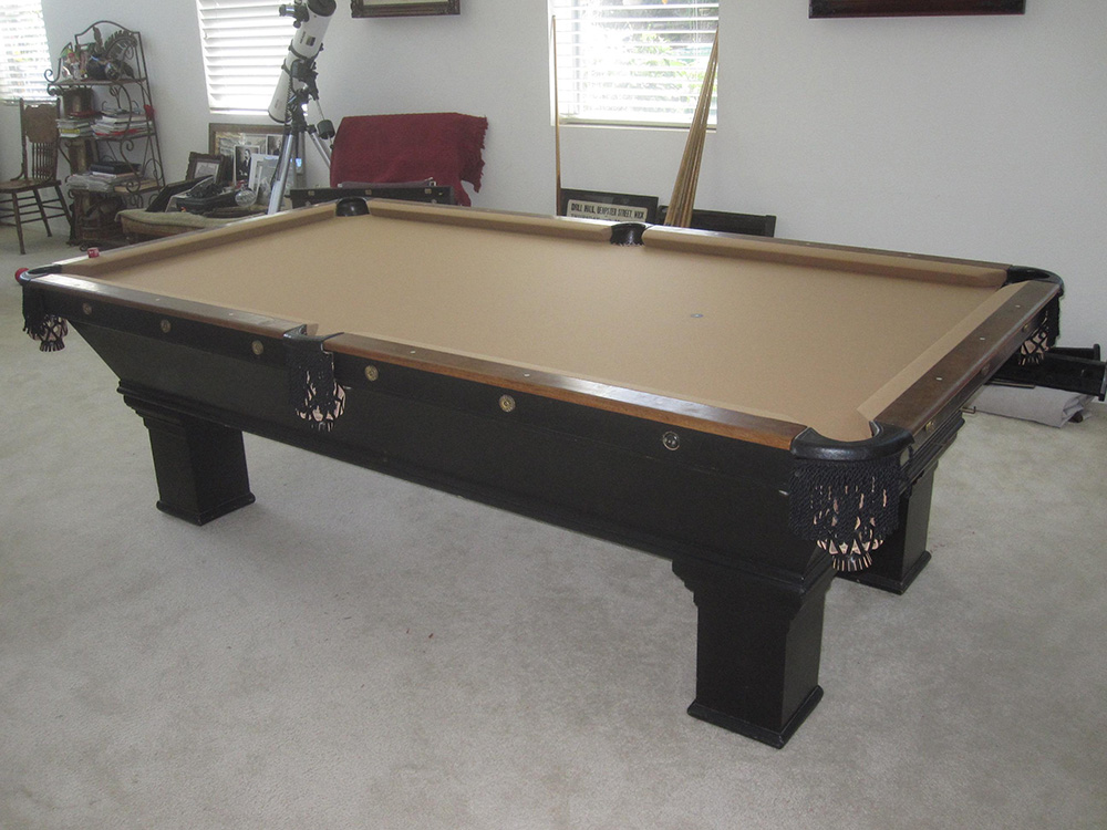 1900u0027s Brunswick Install. By Pool Table King