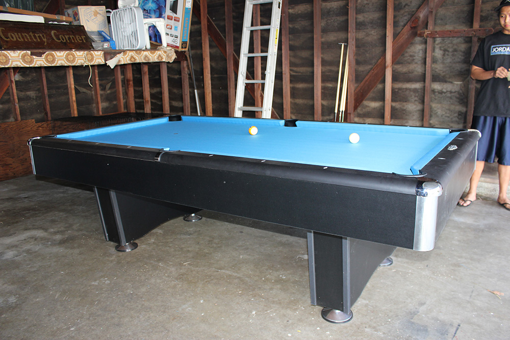 The Beginings Of A Man Cave. By Pool Table King