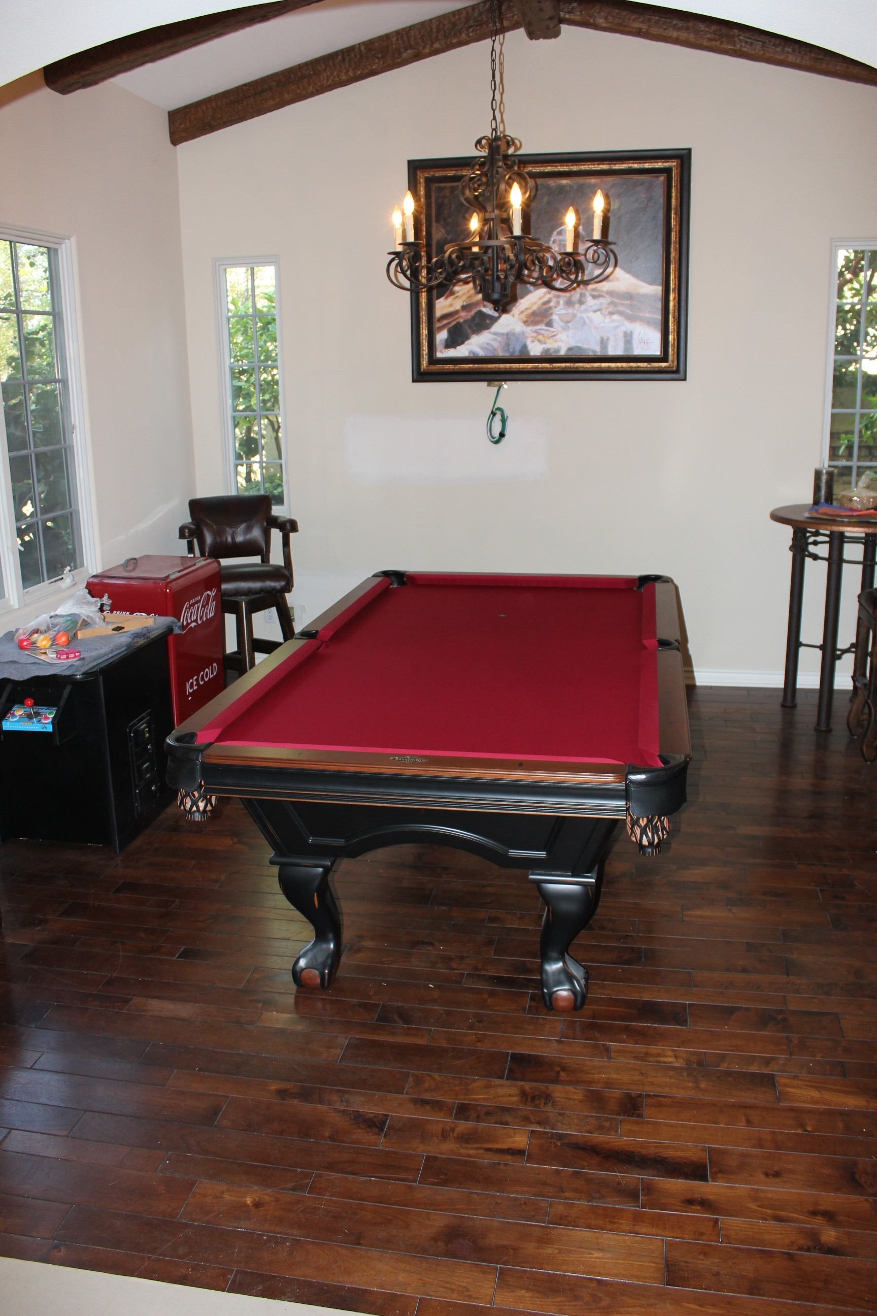 What Size Pool Table Pool Table Service Billiard Supply Orange - What size room do i need for a pool table