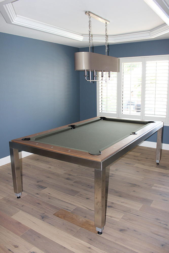 Stainless Steel Fusion. by Pool Table King