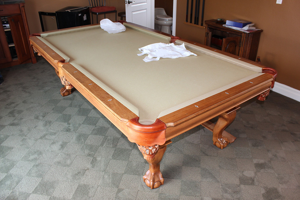 Rooftop Pool Table Move | DK Billiards Pool Table Movers ...