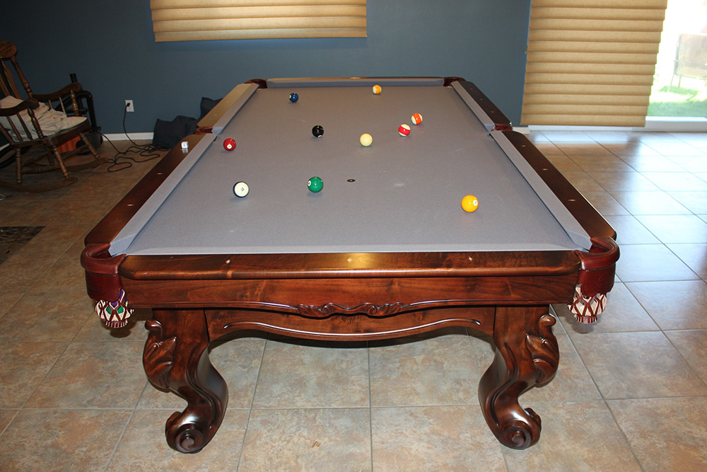 How Connelly Makes A Pool Table Better Pool Table Service - Pool table jacksonville fl