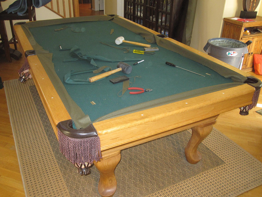 the second and most important thing to consider is whether or not the pool table has been improperly moved by an pool table mover - How To Make A Pool Table