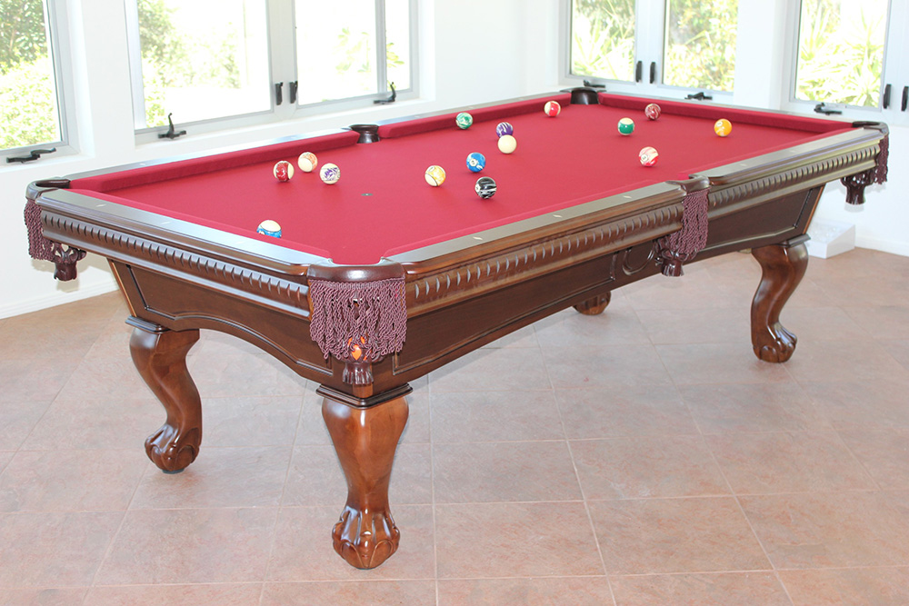 New CL Bailey Dutchess Pool Tableu2026 Hereu0027s A Brand New Eight Foot Slate Pool  Table We Recently Delivered And Installed To Our Client From Bradbury, CA.
