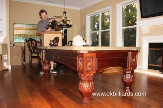 Packing Your Pool Table For A Move Pool Table Service Billiard - Pool table movers delaware