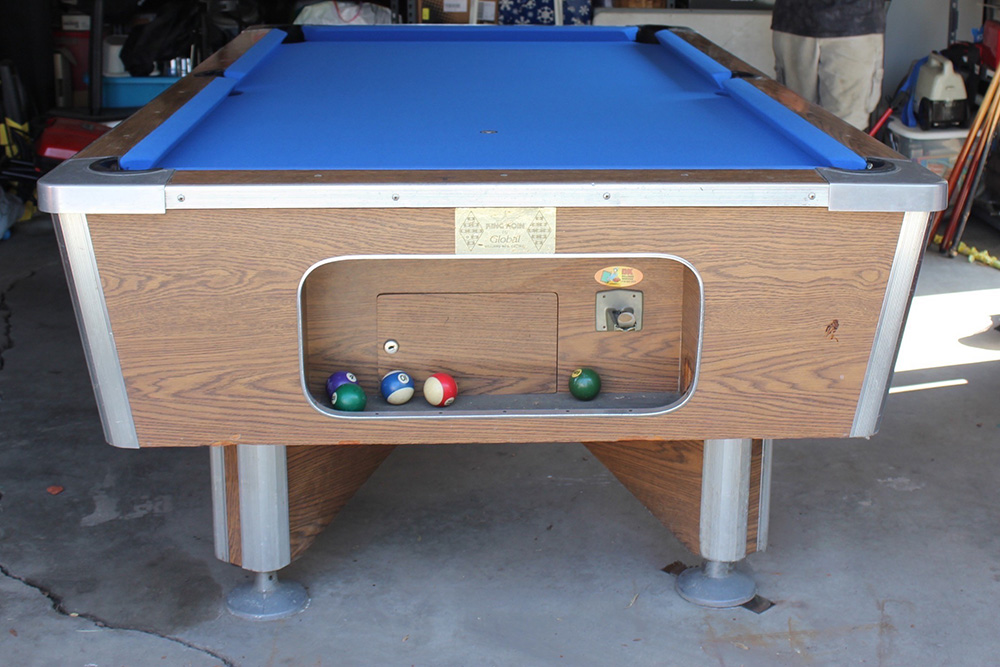 Global Coinop Gets New Life Pool Table Service Billiard Supply - Coin operated pool table parts