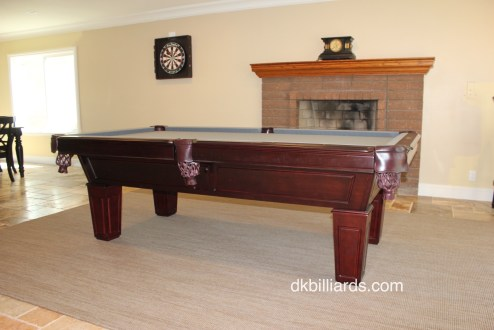 Placing A Pool Table On A Rug Pool Table Service Billiard Supply - Rug under pool table