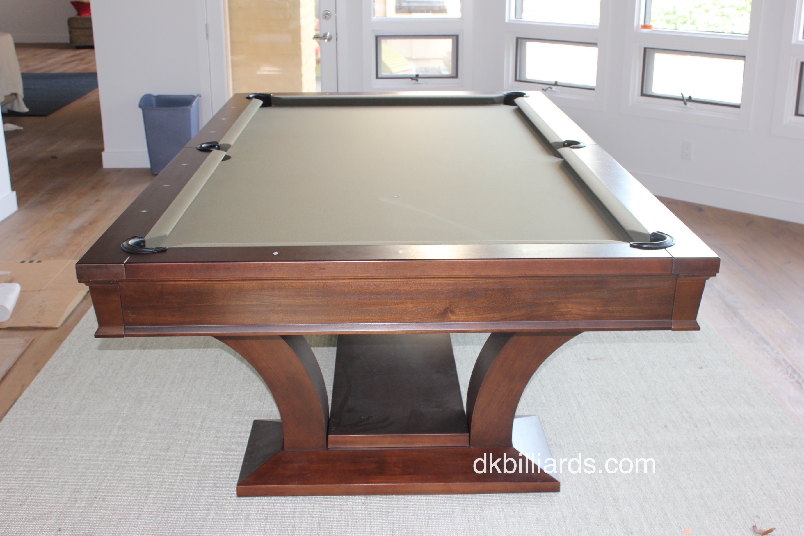 Brunswick Treviso Uncrated Pool Table Service Billiard Supply - Pool table movers corona ca