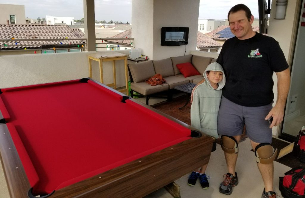 family owned billiard service