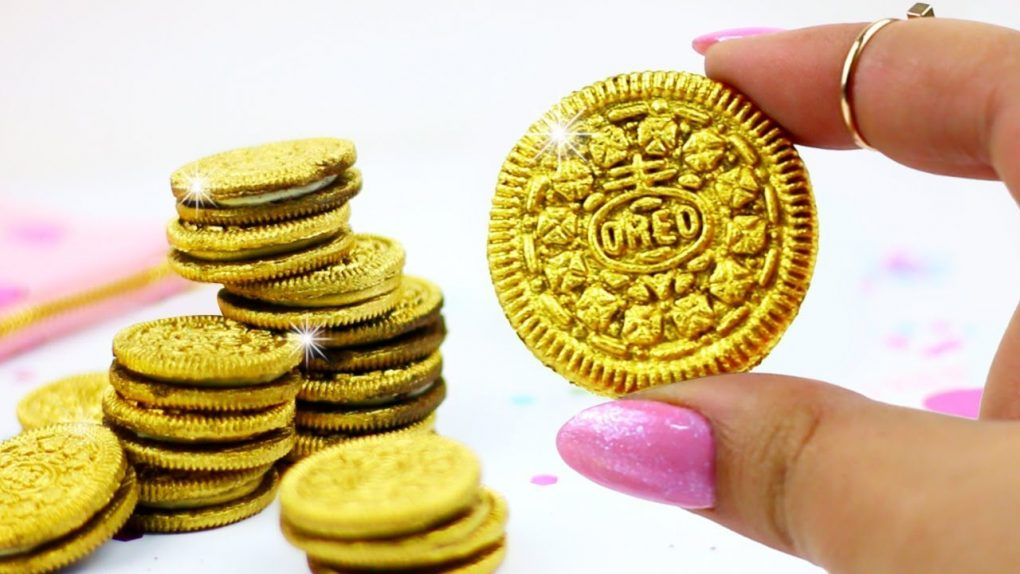 24K GOLD OREOS ♥ DIY Valentine's Day Gift Idea!